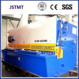 Machine de tonte de massicot hydraulique de commande numérique par ordinateur de découpage de plaque de tôle d'acier en métal (QC12Y-12X3200)