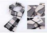 Шарф полиэфира шерстей зимы способа людей Nylon акриловый связанный (YKY4601)