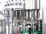 유리병 우유 충전물 기계