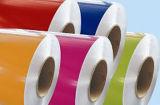 PE of Kleur Met een laag bedekt van het Aluminium PVDF/van het Aluminium Blad voor Plafond