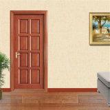 Porte intérieure en bois de Ritz, porte de placage, portes intérieures en bois de chambre pour une personne