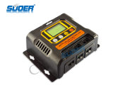 Controlador solar da carga de Suoer 12V 24V 48V 10A MPPT (SON-MPPT-10A)