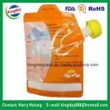 Standup Zak van Spuiten voor Vruchtesap of Detergent Verpakkende Zak van de Drank of van de Wasserij