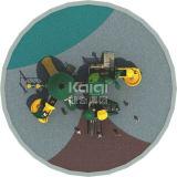 Скольжения Kaiqi напольной совмещенные спортивной площадкой, лестницы альпинистов с характеристикой джунглей