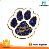 Aduana-Made Metal Badges Cartoon Animals Printing de los fabricantes un Glue Badges Creative Commemorative Badges