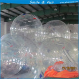 Rodillo inflable del agua, bola de Zorb, bola inflable del topetón del vientre