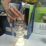 굉장한 도매 공장 담배 LED 유리제 Shisha Hookah