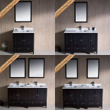 Fed-1074 mobília ereta livre moderna do banho de 84 vaidade do banheiro do café da qualidade superior da polegada