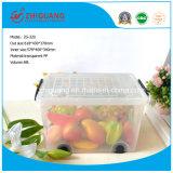 618 * 430 * 370 Materiales de calidad superior portátil de plástico caja de almacenamiento