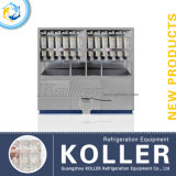 Koller 3 Tons Cube Ice Machine para Storage