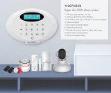Sistema de alarme Home da G/M do assaltante de Secustone (Global System para comunicações móvéis) com detetores do alarme