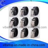 Curvatura de correia personalizada do metal para homens (zinco alloy-022)
