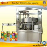 O suco automático da bebida pode máquina tampando de enchimento
