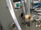 Saco plástico inteiramente automático do slider do Zipper que faz a máquina