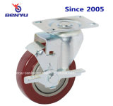 Средств рицинус PVC обязанности с бортовым тормозом