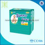 Pannolini a gettare del bambino dei pannolini del pannolino pieno di sole del bambino