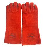 """16 """" перчаток заварки двойной ладони теплостойкGp"""