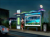 Nuovo Style Bus Shelter per Station (HS-BS-F013)