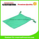 Sacos 100% verdes recicl do malote do Drawstring do algodão dos bens para o empacotamento do presente