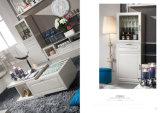 Le sofa de tissu le plus neuf avec le bâti en bois pour le jeu de salle de séjour (LFS-007)