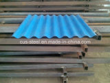 PPGI gewölbtes Metall, das Stahlblech Ibr gewölbtes Dach-Blatt Roofing ist