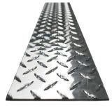 Плита Checkered проступи 6061 алюминиевая для используемого противоюзового