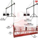 Plataforma de funcionamiento suspendida Zlp800 y alzamiento eléctrico
