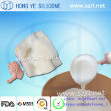 MSDS/SGS RTV Mould Making Silicone Rubber für Colored Crafts Products