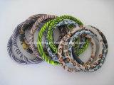 Pulseras de la bobina del metal de los brazaletes del estiramiento de la bobina del resorte de los colores