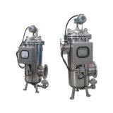 Filtre d'eau rinçant à partir de l'orifice de vidange automatique de 150 microns pour le pétrole