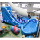 Glissière d'eau gonflable adulte commerciale avec le grand syndicat de prix ferme/glissière pleine d'entrain gonflable commerciale