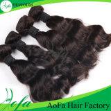 5A/6A/7A等級の加工されていないブラジルのバージンの毛のRemyの人間の毛髪の拡張