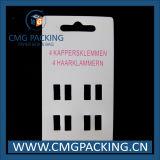 Cartão de embalagem impresso jóia do indicador da mantilha da forma (CMG-108)