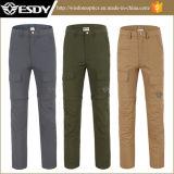 Outdoor Hommes Séchage rapide Pantalons Sport Camping Pêche Randonnées Escalade démontable UV Protection Pantalons Shorts