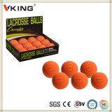 Bolas de treino de corte vermelho Lacrosse de diâmetro 63mm