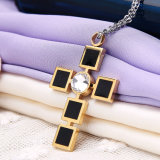 Form Necklace Edelstahl Jewelry Cross Pendant (hdx1016)