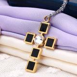 De DwarsTegenhanger van de Juwelen van het Roestvrij staal van de Halsband van de manier (hdx1016)