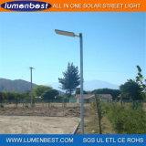 Luz de rua solar clara ao ar livre do jardim do diodo emissor de luz IP65 com sensor