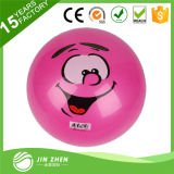 Bola impresa bola animosa inflable del PVC de encargo del color y de la insignia