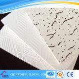 Прокатанная PVC плитка потолка гипса 631#