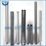 Filtro del cilindro del acoplamiento de alambre de acero inoxidable