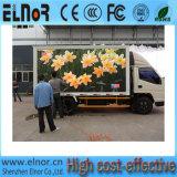 Im Freien LED Bildschirm der wasserdichten und hohen Helligkeits-P10 mobilen des LKW-