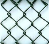 La cerca de la conexión de cadena de alta seguridad solicitó corte