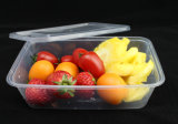650ml Disposible Plastic Rectangular Microwave Takeaway Containers com Lids