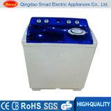 Première machine à laver de charge de doubles baquets semi automatiques