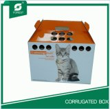 Cat 2016 de la Chine Color Paper Carrier Box avec Handle
