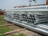 Pared fina galvanizada alrededor del tubo del acero de los muebles