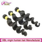 Cabelo 100% peruano da extensão do cabelo humano do Virgin