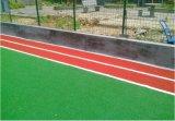 Grama artificial dos esportes para o campo do tênis
