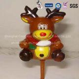De hete Verkoop Gepersonaliseerde Plastic Ornamenten van Kerstmis